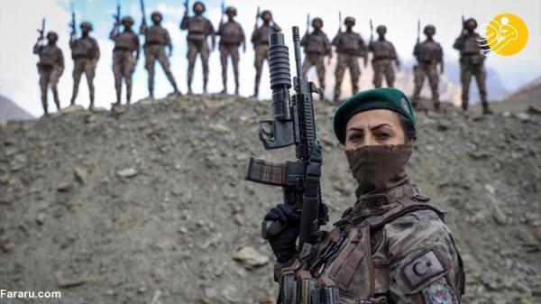 (تصاویر) زنان کماندو در ترکیه