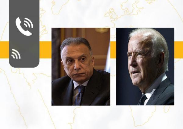 خبرنگاران گفت و گوی بایدن و الکاظمی ، مبارزه با داعش آنالیز شد