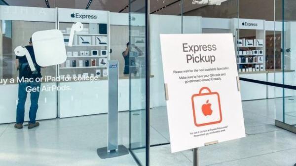 بازگشایی فروشگاه های اپل در آمریکا