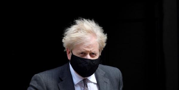 لندن اظهارنظر جنجالی جانسون درباره قربانیان کرونا را انکار کرد