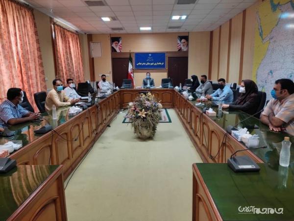 جلسه ستاد بازآفرینی شهرستان بندرعباس برگزار گردید