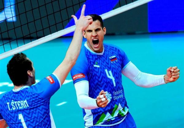 تور ایتالیا: والیبال قهرمانی اروپا، اسلوونی برای چهارمین بار لهستان را ناکام گذاشت، ایتالیا به فینال رسید