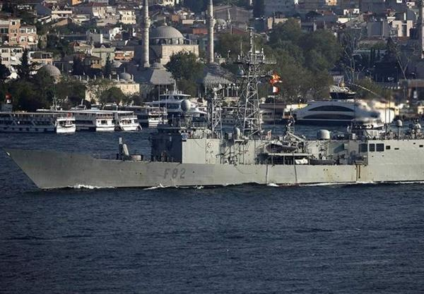تور ایتالیا: ناوگان دریای سیاه روسیه فعالیت کشتی های اسپانیایی و ایتالیایی را زیر نظر دارد